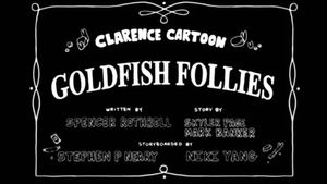 Clarence Cartoon - Goldfish Follies