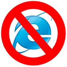 Internet Explorer 6 not allowed