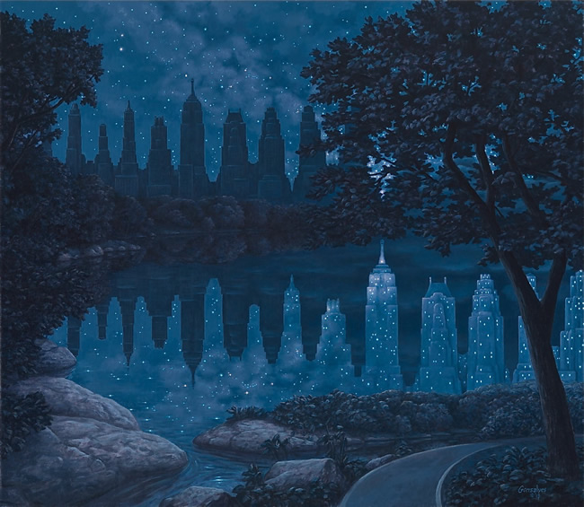 """When The Lights Were Out"" - Rob Gonsalves"