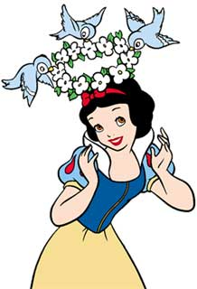 Snow White with Birdies