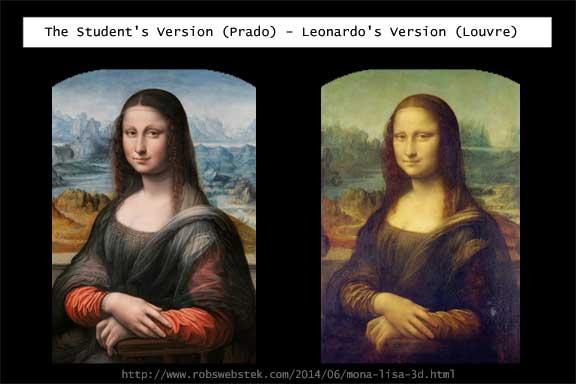 Mona Lisa - 3D