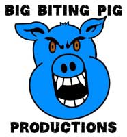 Big Biting Pig Productions Logo (With Fangs)