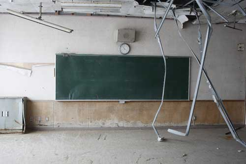 Sendai / Gamou ---a class-room
