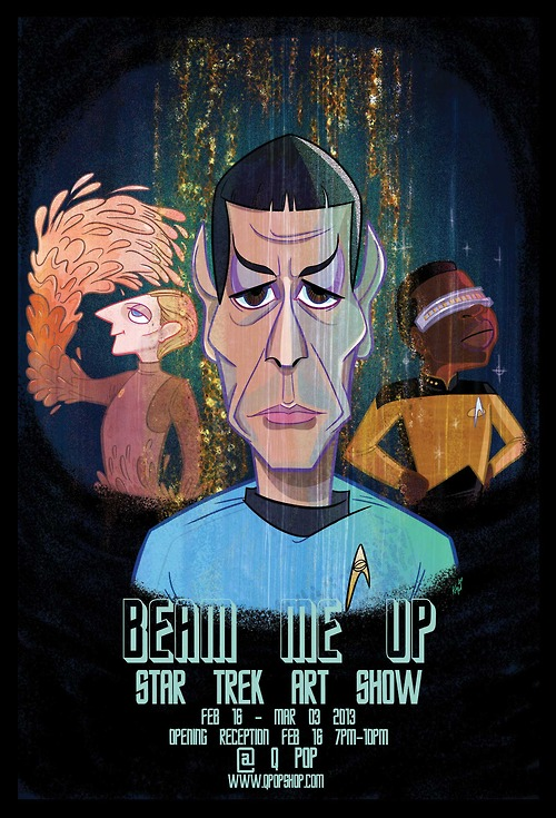 Beam Me Up - Star Trek Art Show