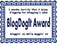 BlogDogIt Award - Take One